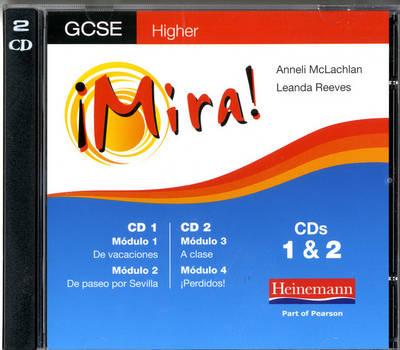 Mira AQA/OCR GCSE Spanish Higher by Leanda Reeves, Anneli McLachlan