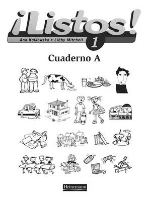 Listos! 1 Workbook A (Pack of 8) by