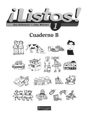 Listos! 1 Workbook B Pack of 8 by