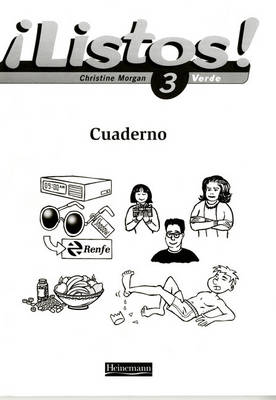 Listos! 3 Verde Workbook (Pack of 8) by Mike Calvert
