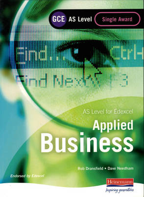 GCSE Applied Business Edexcel: Student Book by Carol Carysforth, Mike Neild