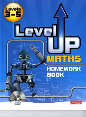 Level Up Maths: Homework Book (Level 3-5) by Greg Byrd