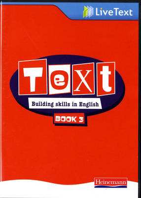 Text: Building Skills in English 11-14 LiveText 3 by