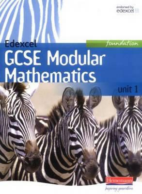 Edexcel GCSE Modular Mathematics - Foundation Unit 1 by Keith Pledger