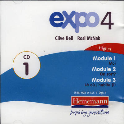 Expo 4 Higher CDs (Pack of 4) by