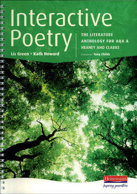 Interactive Poetry 11-14 Student book by Lis Green, Kath Howard, David E. Kitchen, Imelda Pilgrim