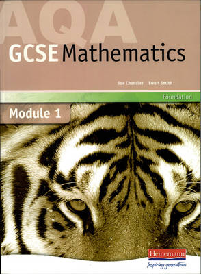AQA GCSE Maths Foundation Module 1 by Sue Chandler