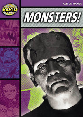 Rapid Stage 1 Set B Reader Pack: Monsters! (Series 1) by Alison Hawes