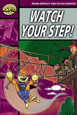 Rapid Stage 1 Set A Watch Your Step! Reader Pack of 3 (series 2) by