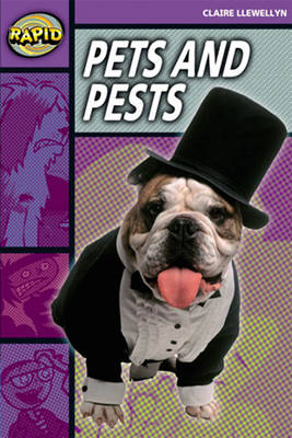 Rapid Stage 1 Set B: Pets and Pests Reader Pack of 3 (Series 2) by Claire Llewellyn