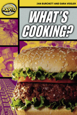 Rapid Stage 4 Set A: What's Cooking? Reader Pack of 3 (Series 2) by
