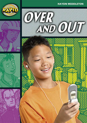 Rapid Stage 5 Set B: Over and Out Reader Pack of 3 (Series 2) by