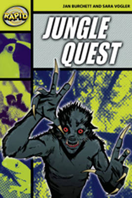 Rapid Stage 6 Set A: Jungle Quest Reader Pack of 3 (Series 2) by Jan Burchett, Sara Vogler