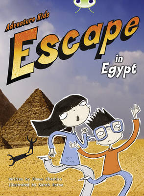 Adventure Kids: Escape in Egypt (Orange B) by Simon Cheshire