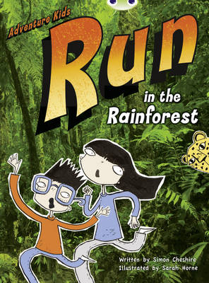 Run in the Rainforest (Turquoise A) NF by Simon Cheshire