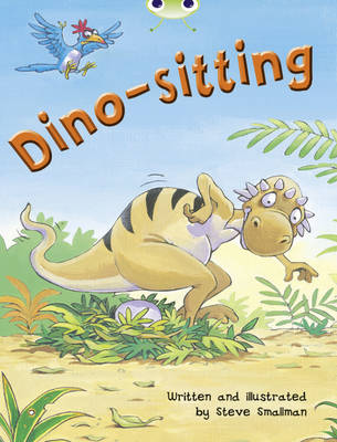 Dino-Sitting Orange B/1a by Steve Smallman