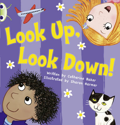 Look Up, Look Down! Pink A by Catherine Baker