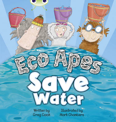 Eco Apes Save Water Red B (KS1) by Greg Cook