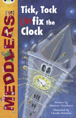Meddlers: Tick, Tock, Unfix the Clock (Lime A) by Maureen Haselhurst