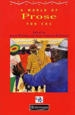 A World of Prose for CXC by Mark McWatt, Hazel Simmons-McDonald