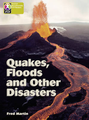 Primary Years Programme Level 9 Quakes Floods and Other Disasters 6 Pack by