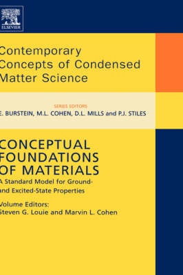 Conceptual Foundations of Materials A Standard Model for Ground- and Excited-State Properties by Steven G. Louie