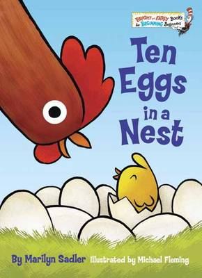 Ten Eggs In A Nest by Marilyn Sadler, Michael Fleming