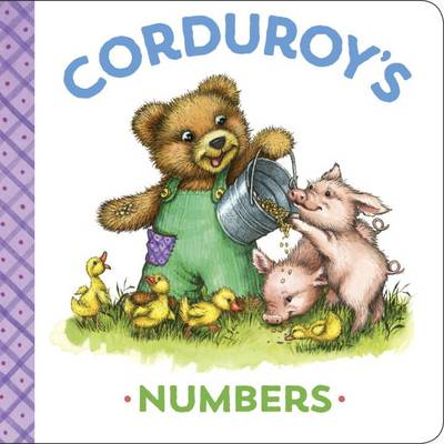 Corduroy's Numbers by MaryJo Scott