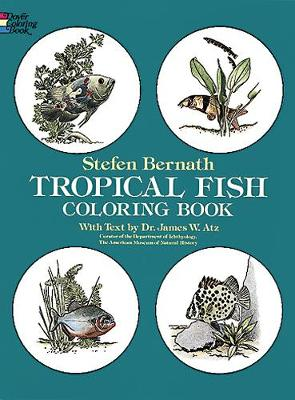 Tropical Fish Coloring Book by Stefen Bernath