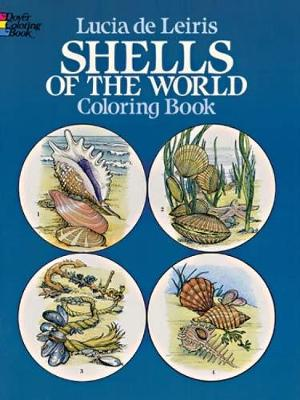 Shells of the World Colouring Book by Lucia De Leiris
