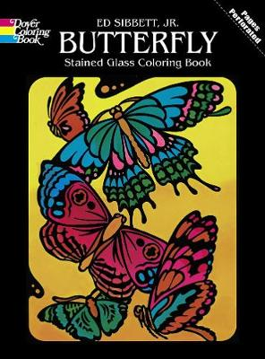Butterfly Stained Glass by Ed, Jr. Sibbett