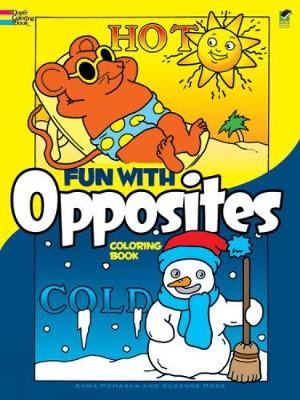Fun with Opposites Coloring Book by Anna Pomaska