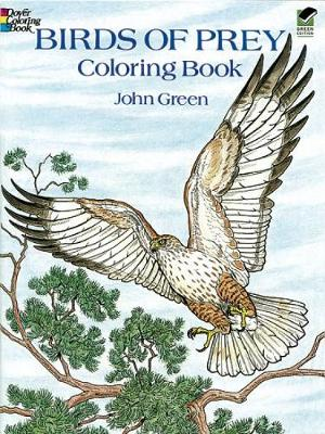 Birds of Prey Coloring Book by John Green