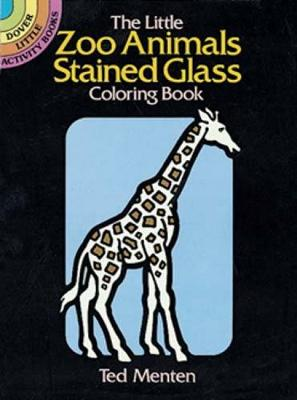 The Little Zoo Animals Stained Glass by Theodore Menton