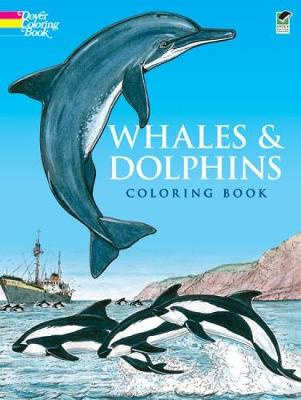 Whales and Dolphins: Colouring Book by John Green
