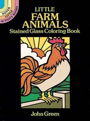 Little Farm Animals Stained Glass by John Green