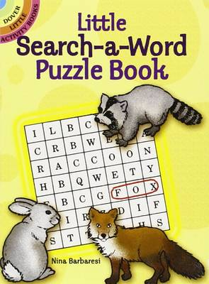 Little Search-a-word Puzzle Book by Nina Barbaresi