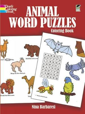 Animal Word Puzzles by Nina Barbaresi