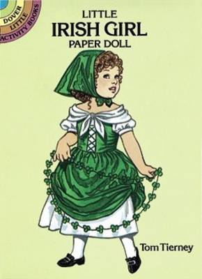 Little Irish Girl Paper Doll by Tom Tierney