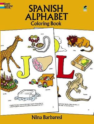 Spanish Alphabet Coloring Book by Nina Barbaresi
