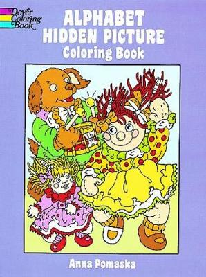 Alphabet Hidden Picture Coloring Book by Anna Pomaska