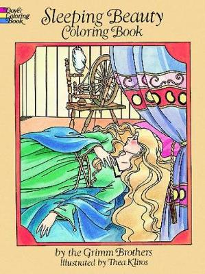Sleeping Beauty: Coloring Book by Thea Kliros