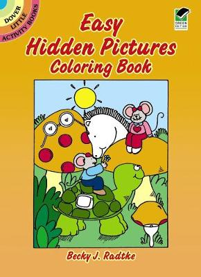 Easy Hidden Pictures Coloring Book by Becky J. Radtke