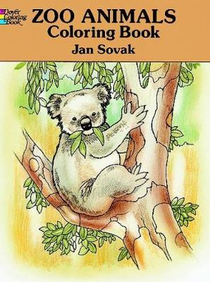 Zoo Animals Colouring Book by Jan Sovak