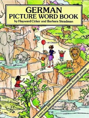 German Picture Word Book by Hayward Cirker, Barbara Steadman