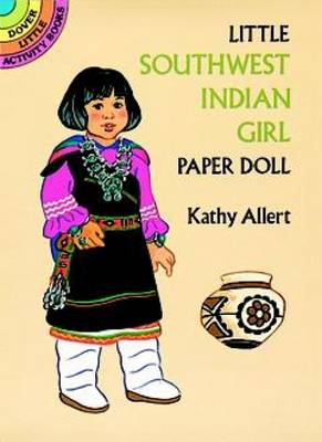 Little Southwest Indian Girl Paper Doll by Kathy Allert