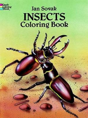 Insects Coloring Book by Jan Sovak