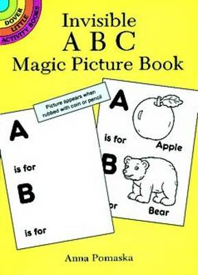 Invisible ABC Magic Picture Book by Anna Pomaska