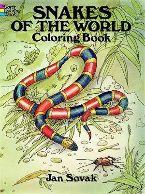 Snakes of the World Coloring Book by Jan Sovak