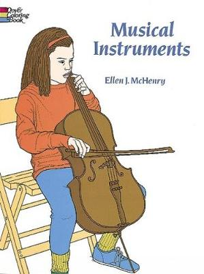 Musical Instruments Coloring Book by Ellen J. McHenry